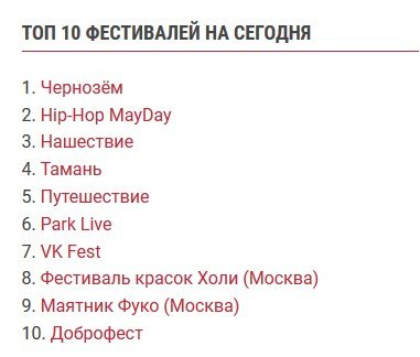Рок-фестиваль «Чернозём» занял первое место по популярности в России, фото-1