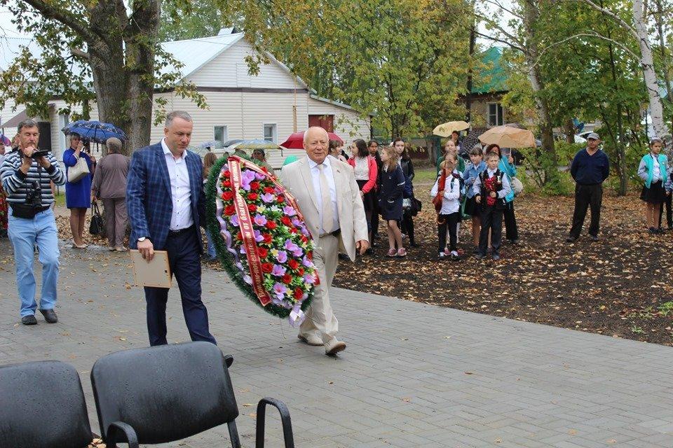 В селе Устье Моршанского района открыли новый мемориал, фото-5