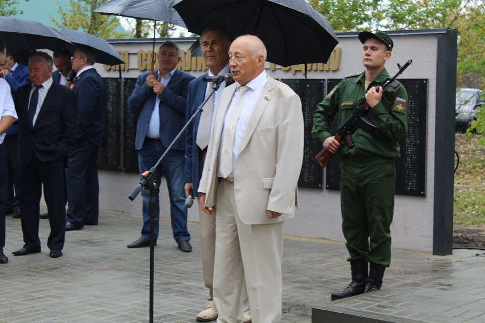 В селе Устье Моршанского района открыли новый мемориал, фото-4