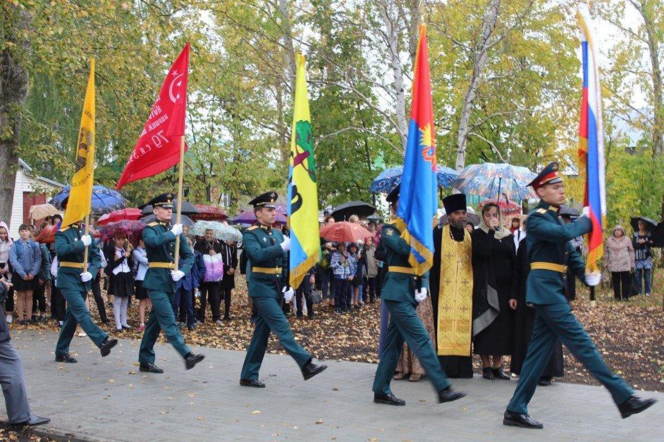 В селе Устье Моршанского района открыли новый мемориал, фото-2