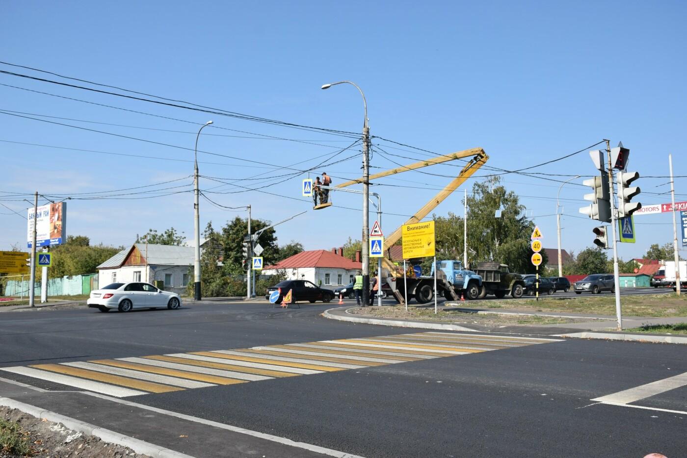 В Тамбове на улице Авиационной устанавливают новый светофор, фото-3
