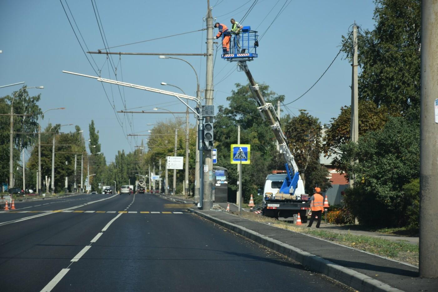 В Тамбове на улице Авиационной устанавливают новый светофор, фото-6