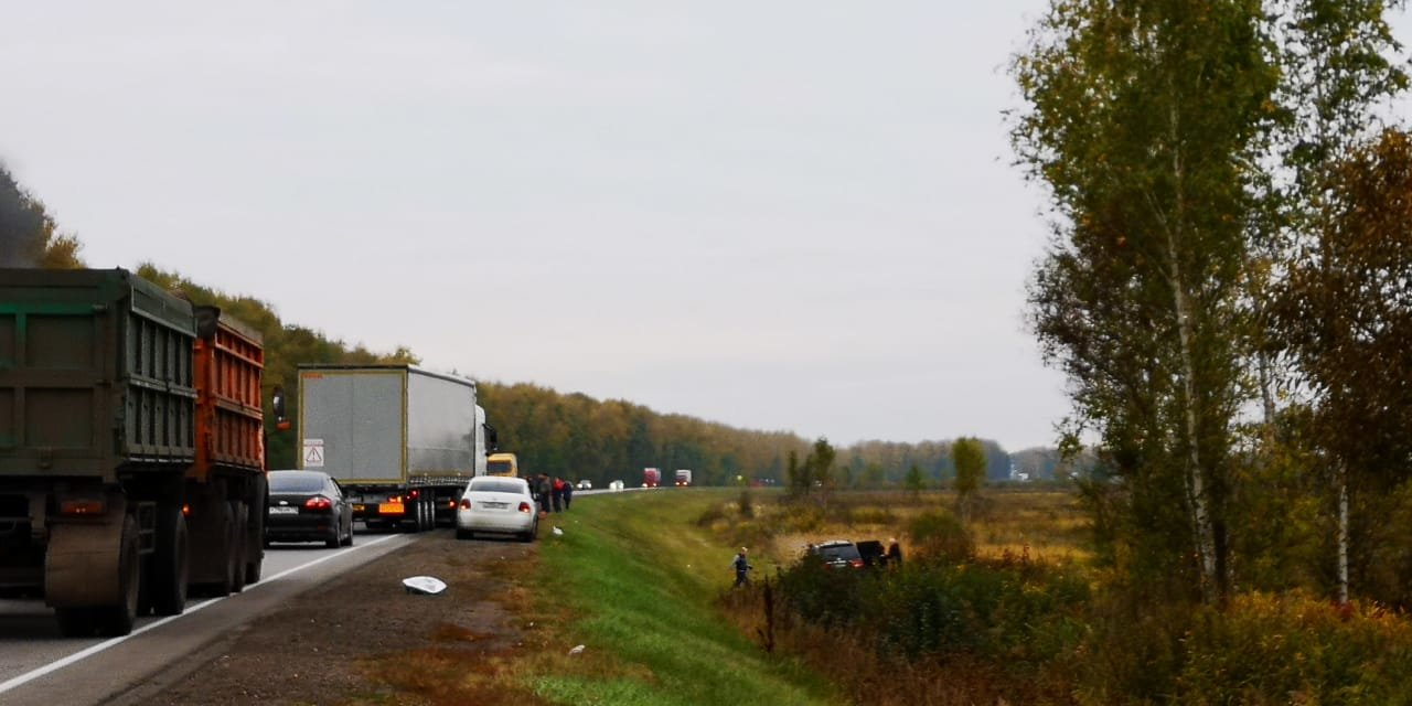 На трассе Р-22 в Тамбовской области в страшном ДТП погибли четыре человека, еще один госпитализирован. ВИДЕО, фото-1