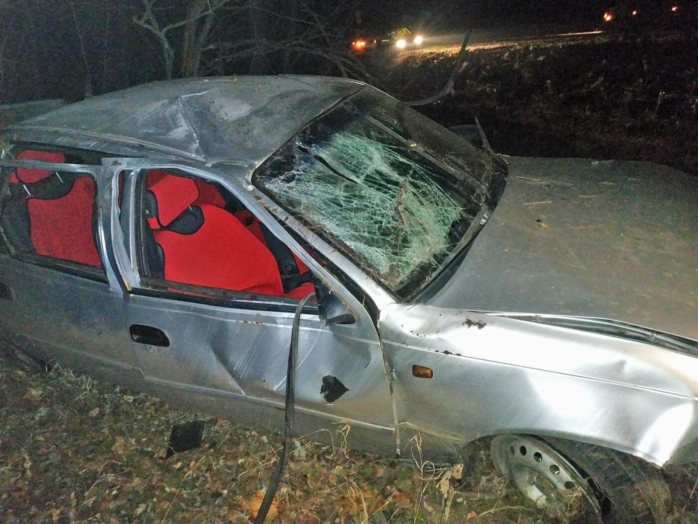 В Тамбовской области перевернулась легковушка: два человека пострадали, водитель скрылся с места ДТП, фото-2
