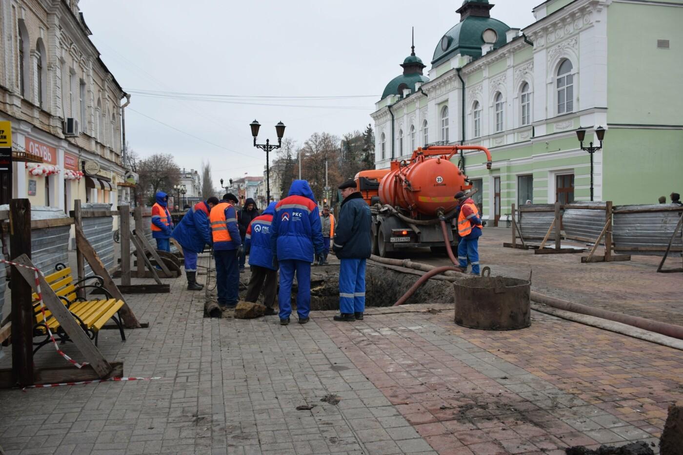 В Тамбове продолжают ремонт коллектора на улице Коммунальной, фото-2
