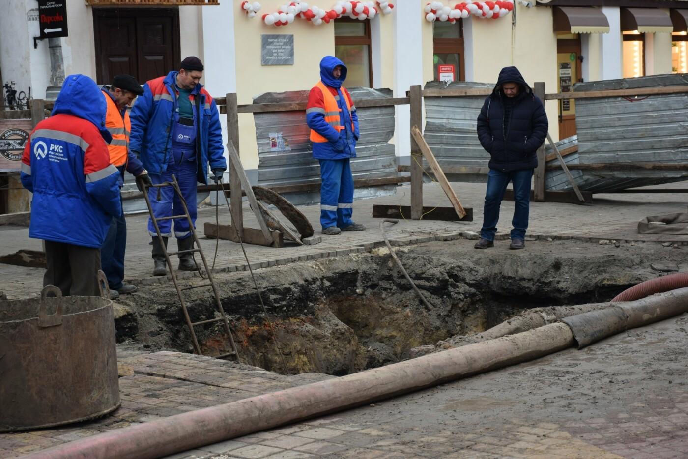 В Тамбове продолжают ремонт коллектора на улице Коммунальной, фото-4