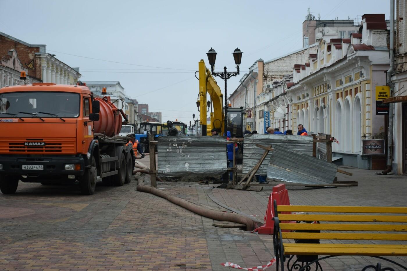 В Тамбове продолжают ремонт коллектора на улице Коммунальной, фото-5
