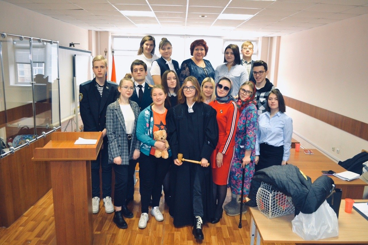 В Тамбовском филиале РАНХиГС провели деловую игру «Судебное заседание по гражданскому делу в суде общей юрисдикции», фото-4