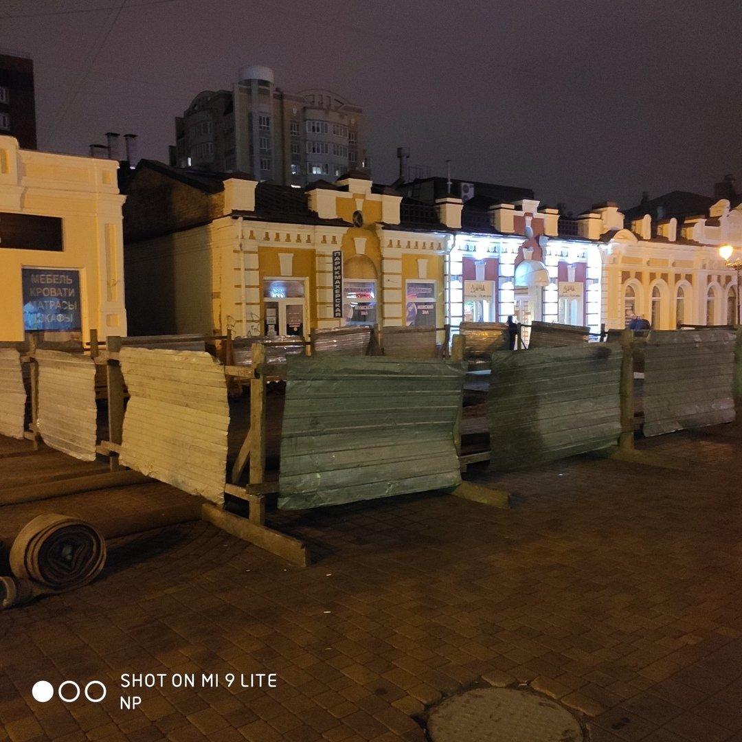 В Тамбове на улице Коммунальной снова обрушился коллектор и провалился грунт, фото-2