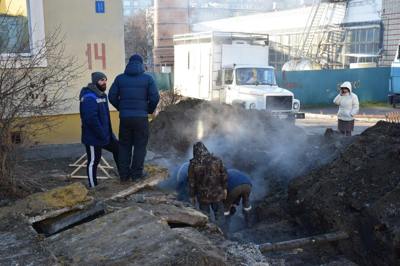 Социальные учреждения на юге Тамбова подключили к системе теплоснабжения после серьезной аварии на трубопроводе, фото-3