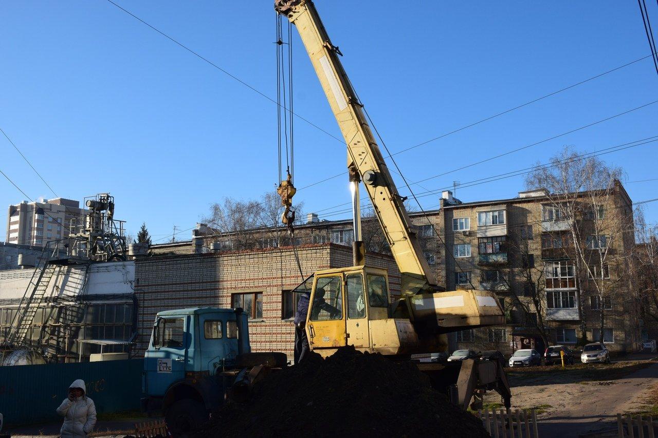 Социальные учреждения на юге Тамбова подключили к системе теплоснабжения после серьезной аварии на трубопроводе, фото-1