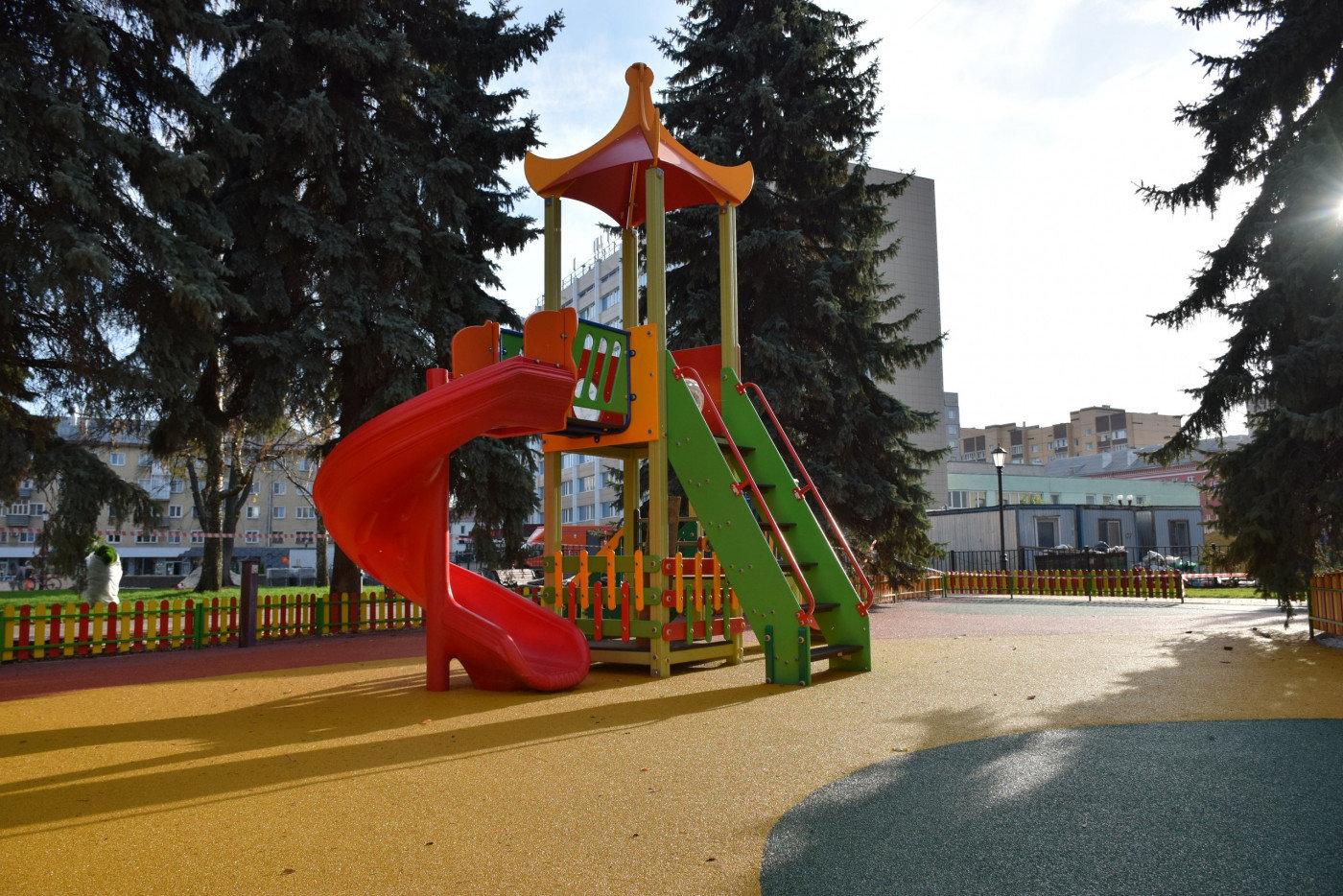 В Тамбове после двухлетней реконструкции открыли сквер на площади Льва Толстого, фото-1