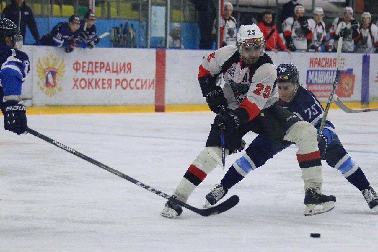 ХК «Тамбов»: крупная волевая победа в Воронеже, фото-1