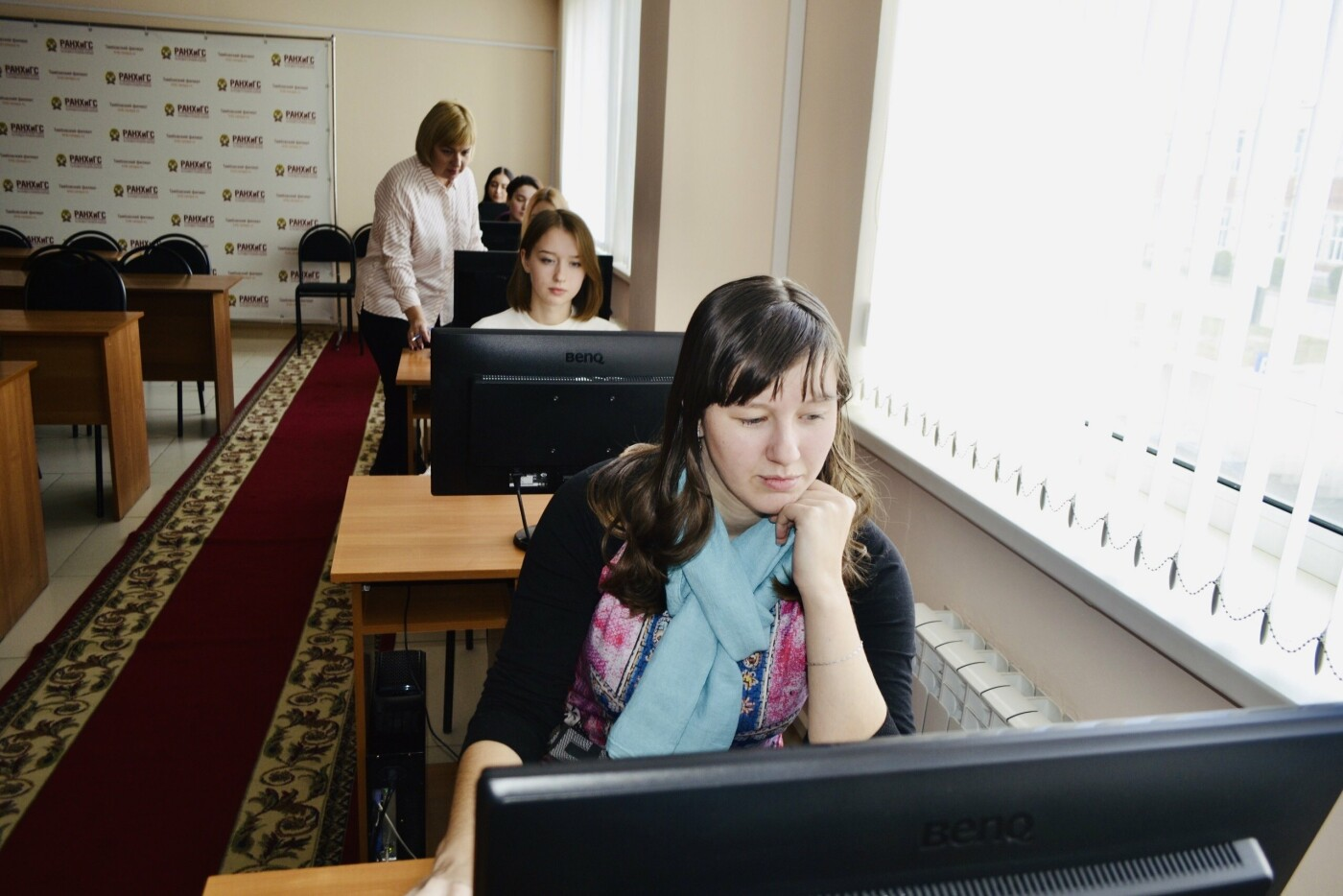 Первокурсники Тамбовского филиала РАНХиГС зарегистрировались в электронно-библиотечных системах, фото-2