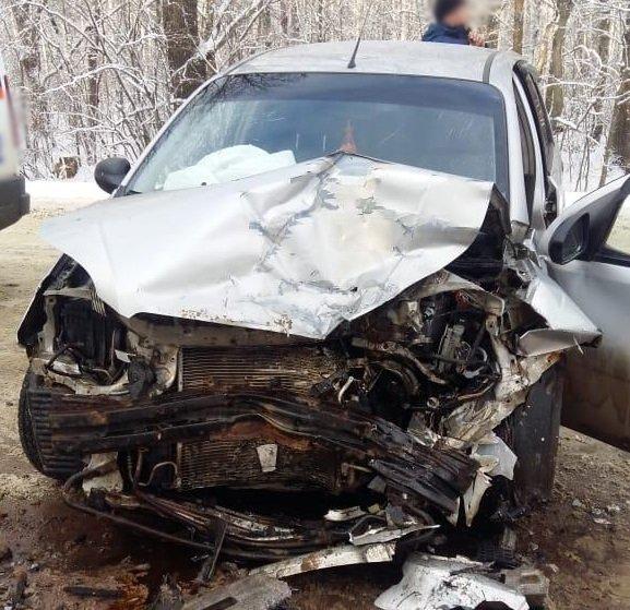 На подъезде к Котовску лоб в лоб столкнулись «Шевроле» и «Фольксваген»: трое госпитализированы, фото-1
