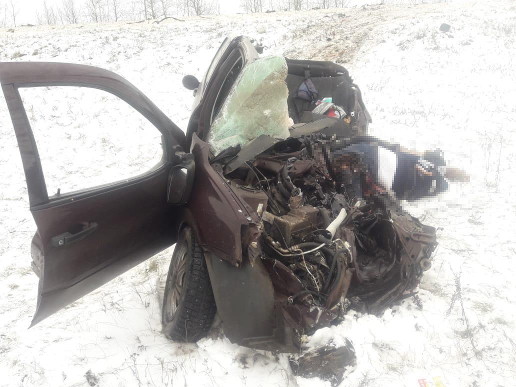 Страшное ДТП под Тамбовом с участием «КамАЗа» и легковушки: двое погибли, еще одна женщина госпитализирована (ВИДЕО), фото-2