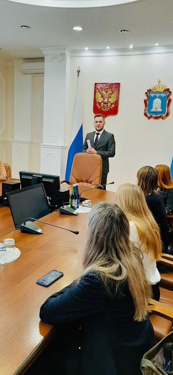 Студенты Тамбовского филиала РАНХиГС познакомились с работой структурных подразделений администрации региона, фото-2