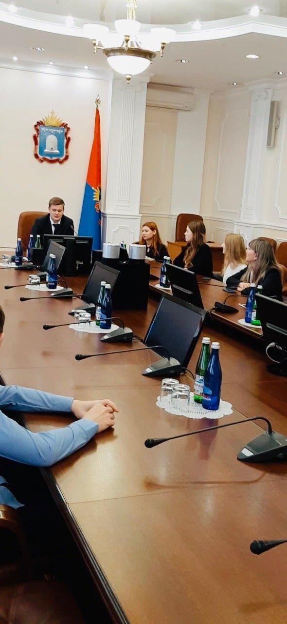 Студенты Тамбовского филиала РАНХиГС познакомились с работой структурных подразделений администрации региона, фото-3