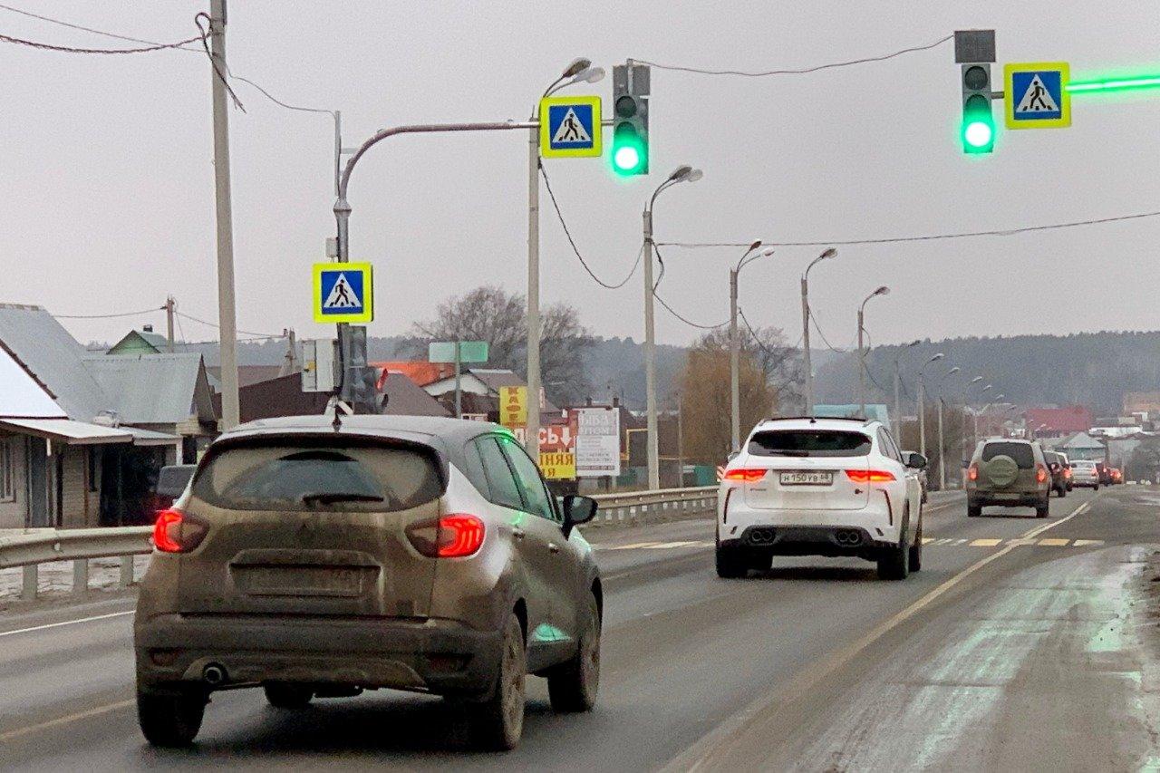 На федеральных трассах Тамбовской области заработали три новых светофора, фото-1