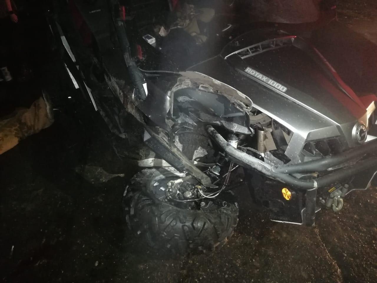 В Мичуринске багги врезался в столб: погиб парень, его друг получил травмы, фото-1