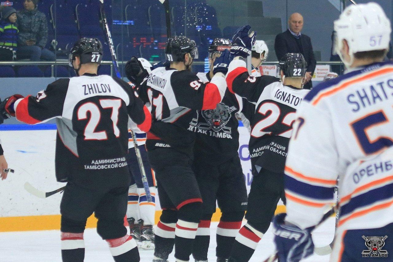 ХК «Тамбов» одержал победу над «Южным Уралом» из Орска, фото-4