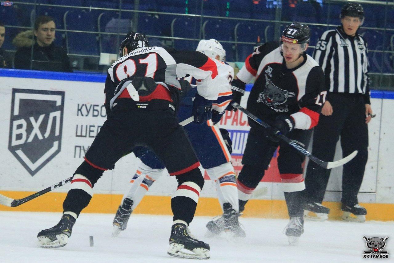ХК «Тамбов» одержал победу над «Южным Уралом» из Орска, фото-1