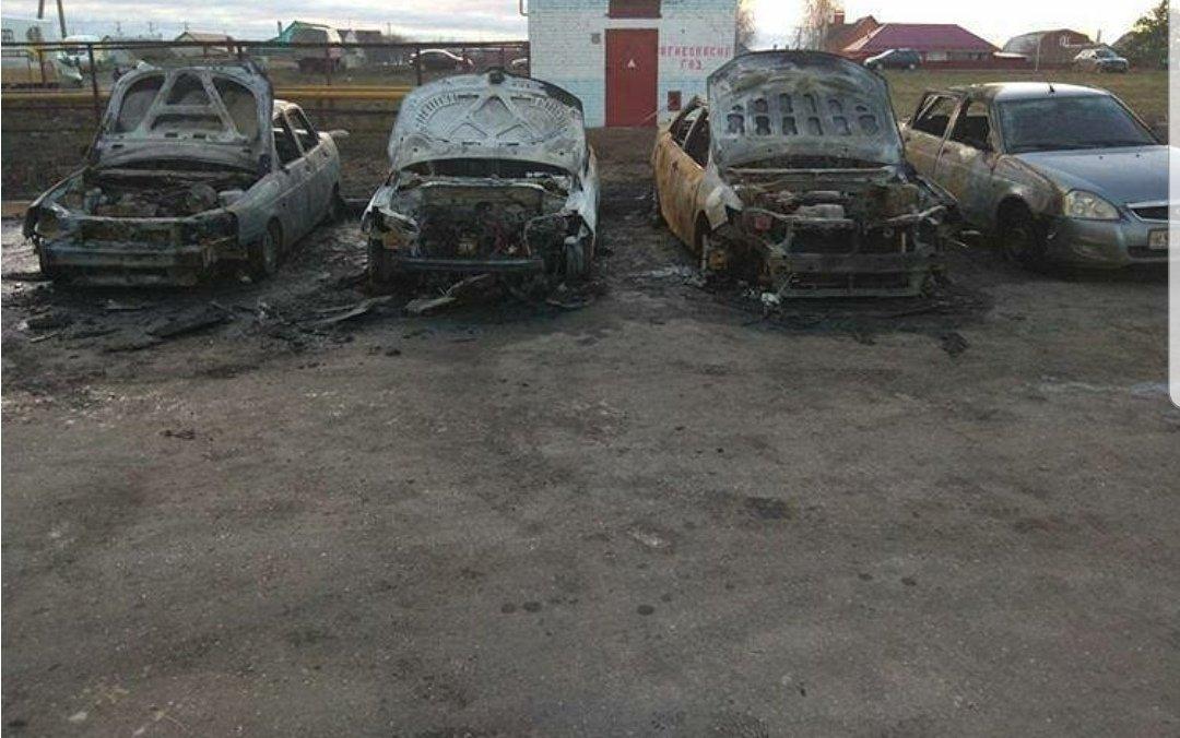 В Тамбове по ночам продолжают массово сгорать автомобили: видео, фото-2