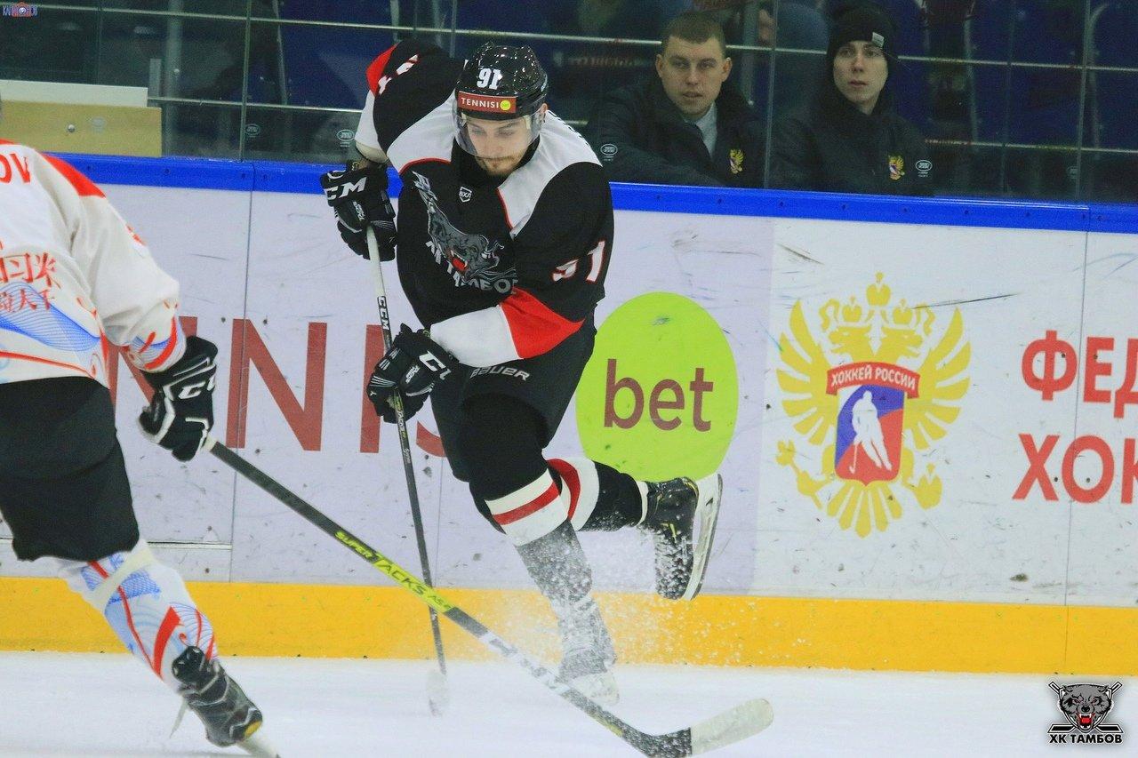 ХК «Тамбов» начал год с крупной победы над аутсайдером, фото-2