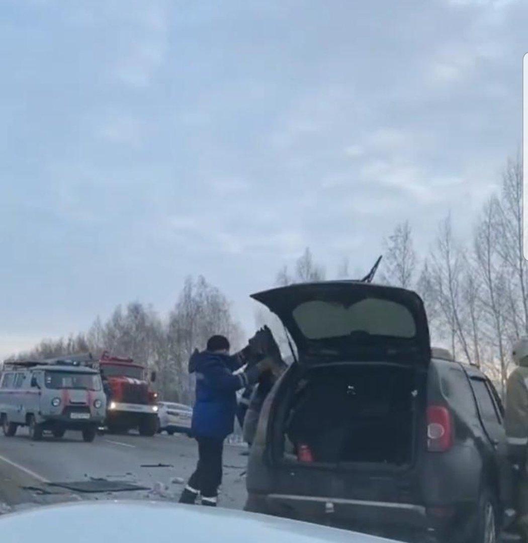 Страшное ДТП на трассе Р-22 под Мичуринском унесло жизни четырех человек на Рождество, фото-5