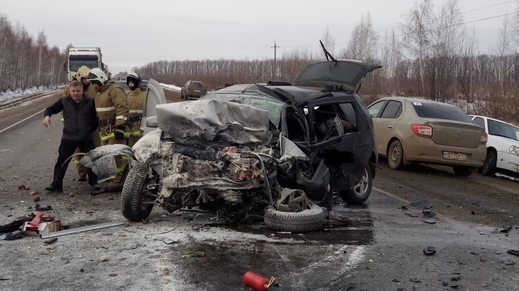 Страшное ДТП на трассе Р-22 под Мичуринском унесло жизни четырех человек на Рождество, фото-3