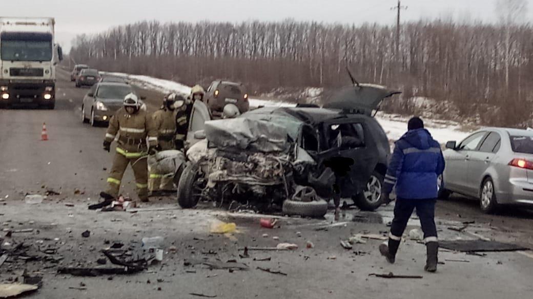 Страшное ДТП на трассе Р-22 под Мичуринском унесло жизни четырех человек на Рождество, фото-4