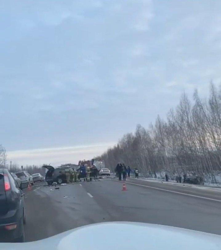 Страшное ДТП на трассе Р-22 под Мичуринском унесло жизни четырех человек на Рождество, фото-6