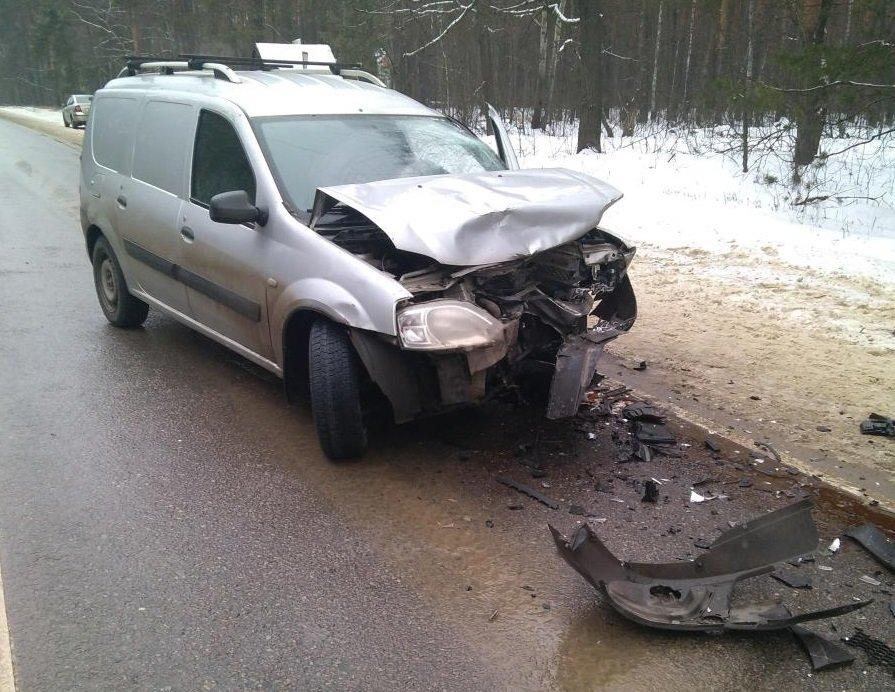 На Северном обходе Тамбова при столкновении двух легковушек пострадали три человека, фото-1