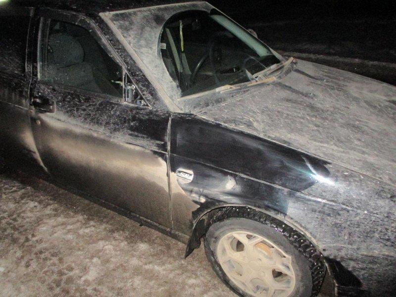 В Сосновском районе «Приора» сбила мужчину, внезапно вышедшего на дорогу, фото-1