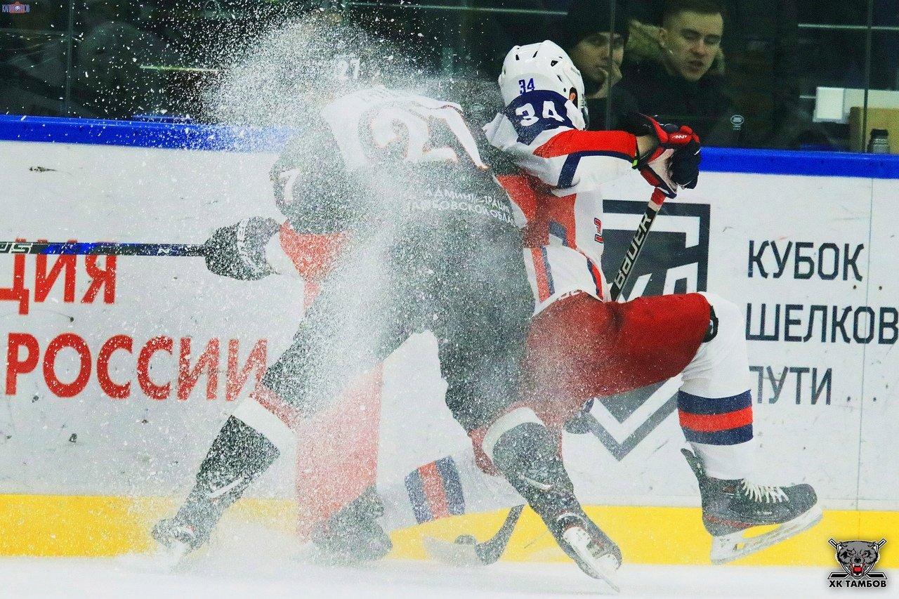 ХК «Тамбов»: победную серию продлить не смогли, но дали бой одному из лидеров, фото-2