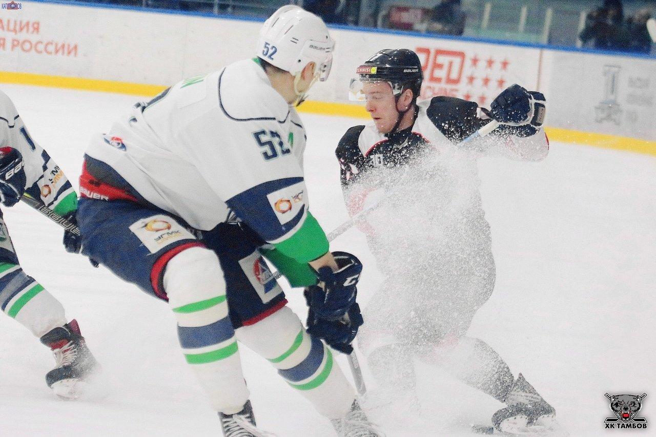 ХК «Тамбов»: досадное поражение на домашнем льду, фото-1