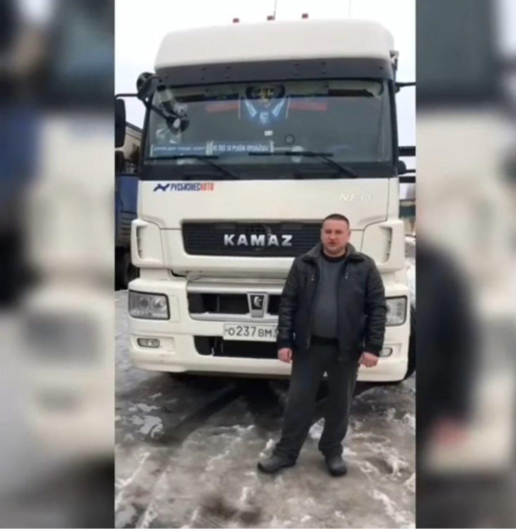 Тамбовский дальнобойщик застрял под Нижнекамском: его спасли сотрудники ГИБДД, фото-1