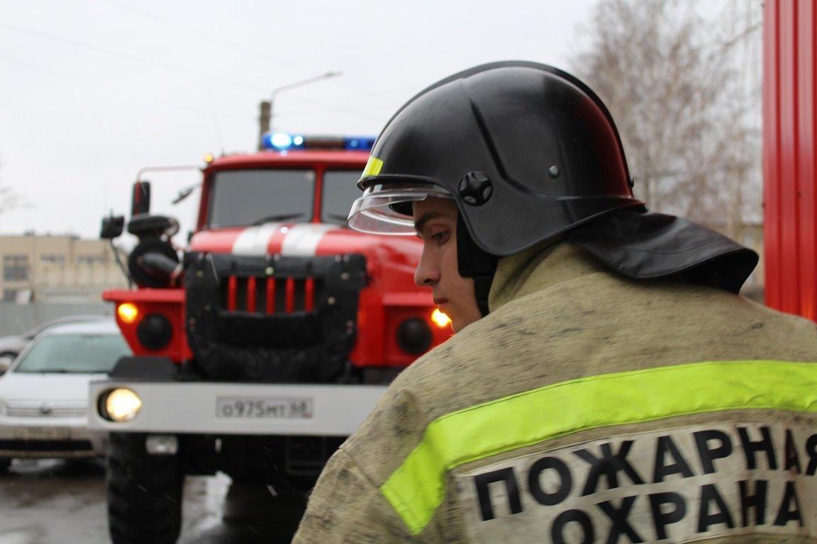 В Тамбовской области пожарные спасли женщину из горящего дома, фото-1