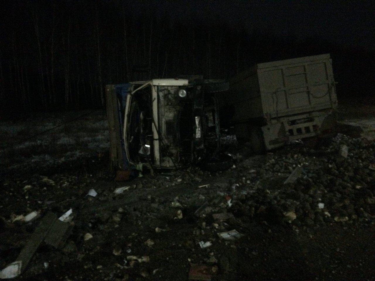 На трассе «Тамбов-Воронеж» столкнулись «КамАЗ» и Land Cruiser: водитель внедорожника в больнице, фото-4
