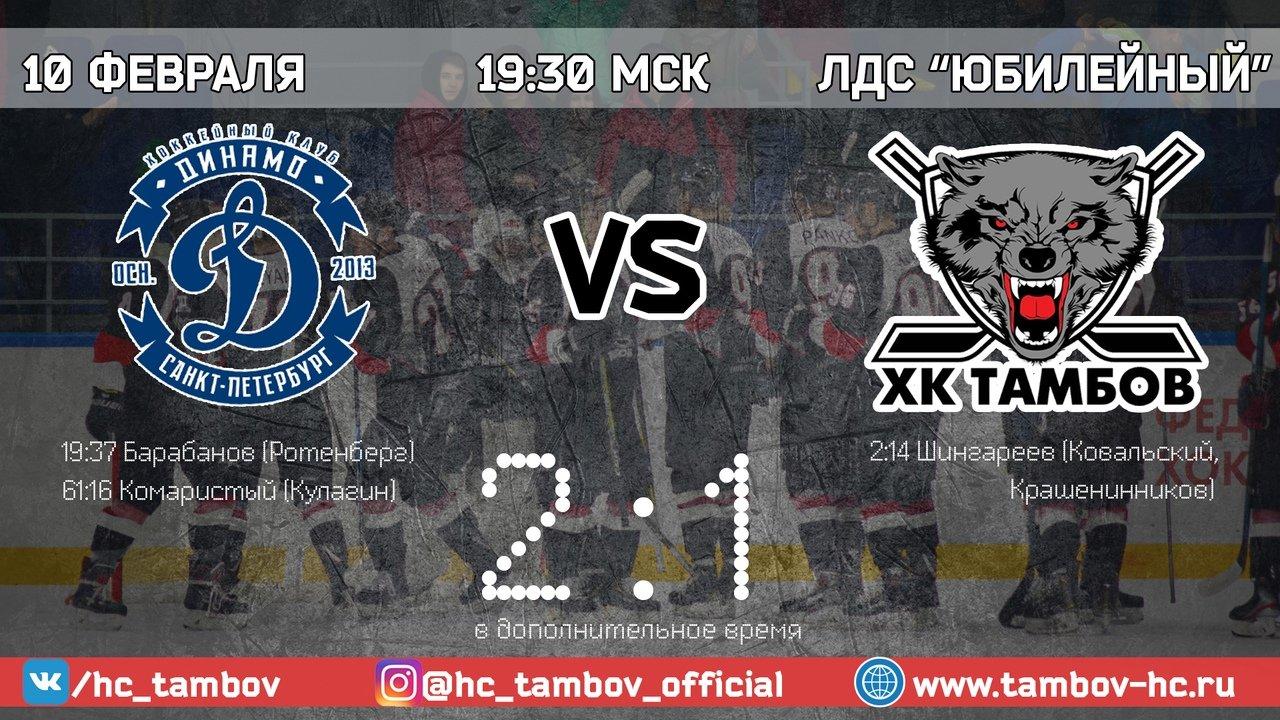 ХК «Тамбов»: дали бой лидеру сезона ВХЛ, фото-1