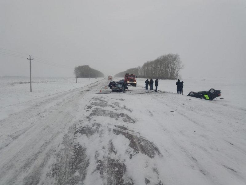 В Тамбовской области три человека погибли в столкновении двух легковушек, фото-2