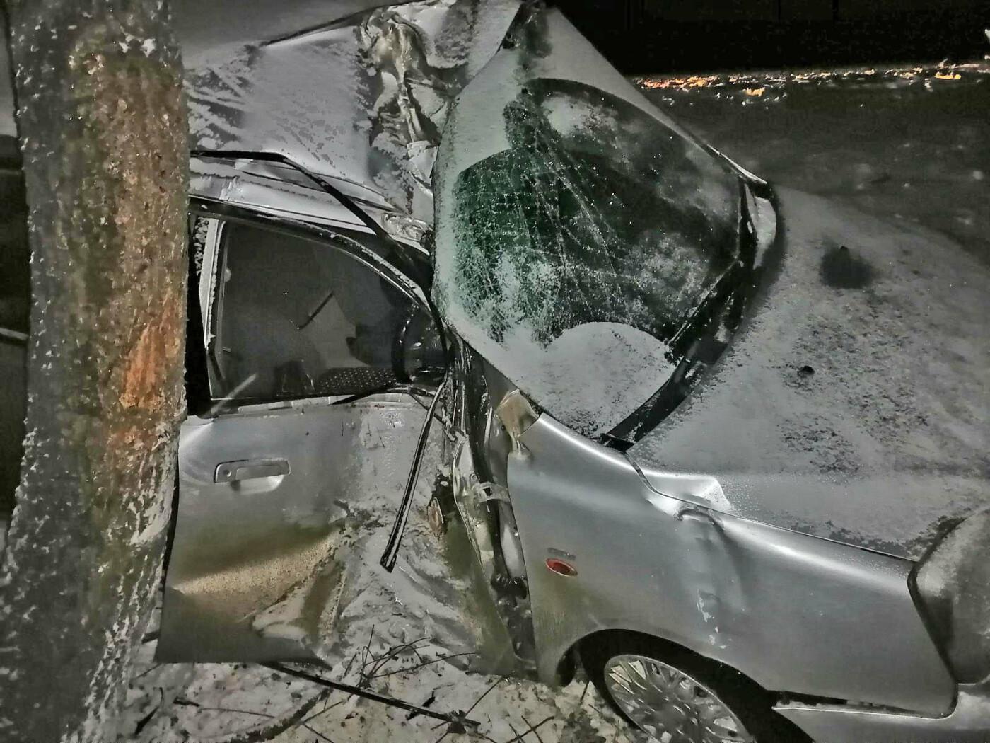 Снегопад в Тамбовском районе стал причиной двух ДТП с пострадавшими на одном участке трассы Р-22, фото-3