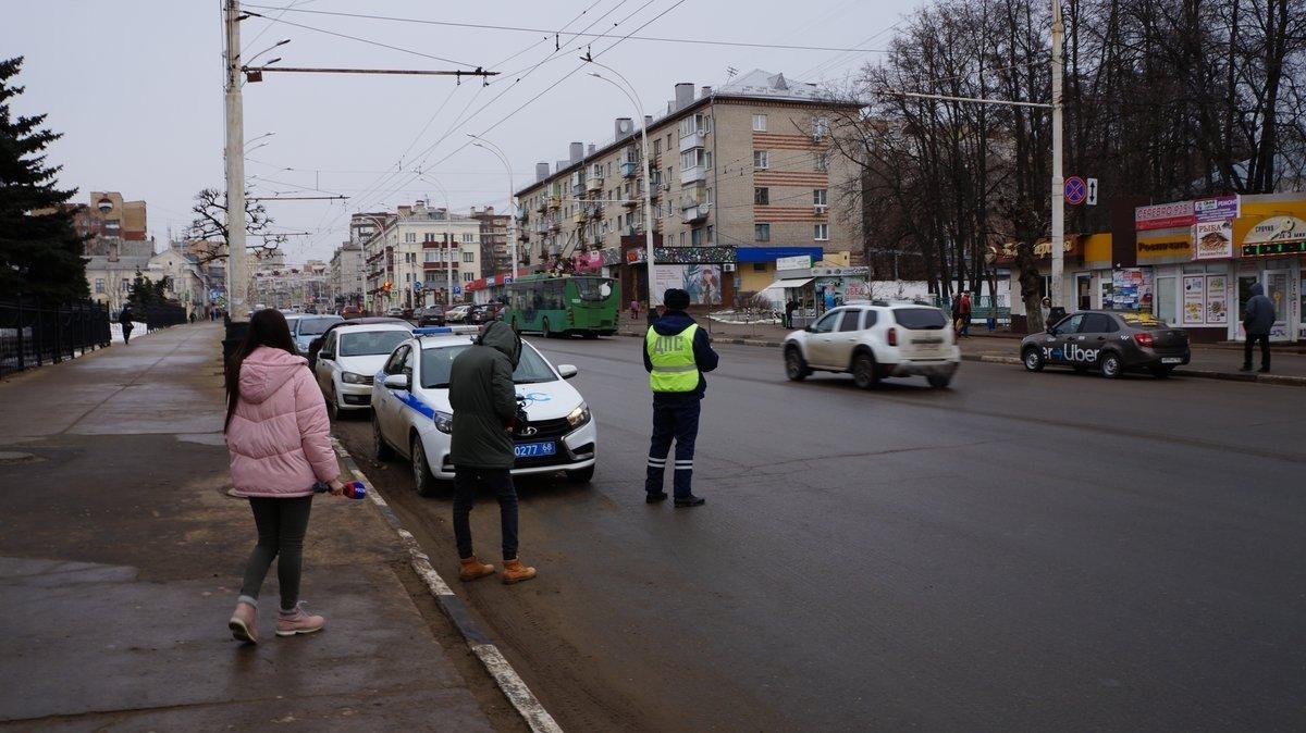На «зебру» без наушников: в Тамбове предупреждали пешеходов, фото-2