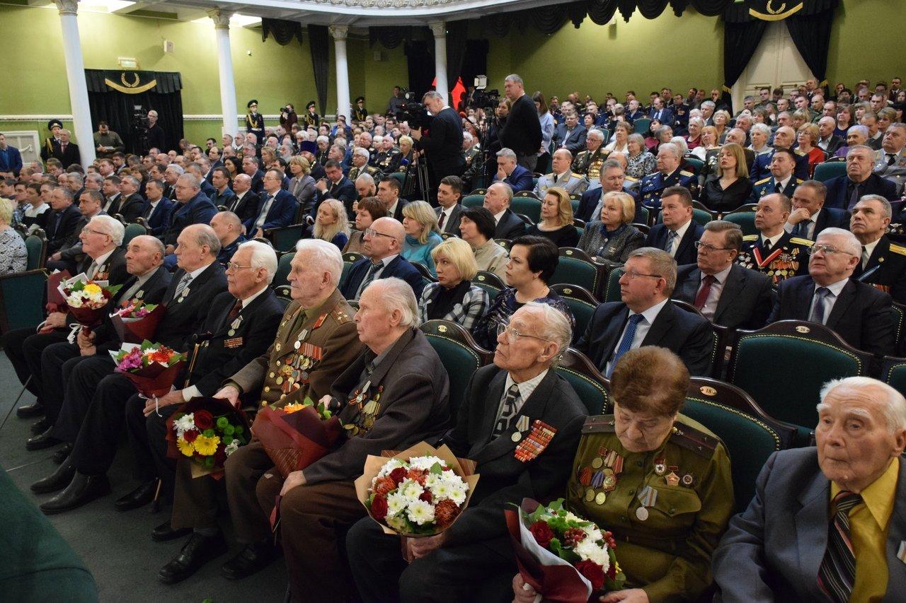 В Тамбове ветеранов поздравили с Днем защитника Отечества, фото-1