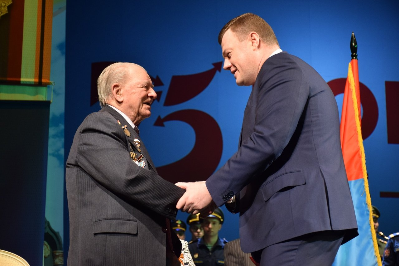 В Тамбове ветеранов поздравили с Днем защитника Отечества, фото-4