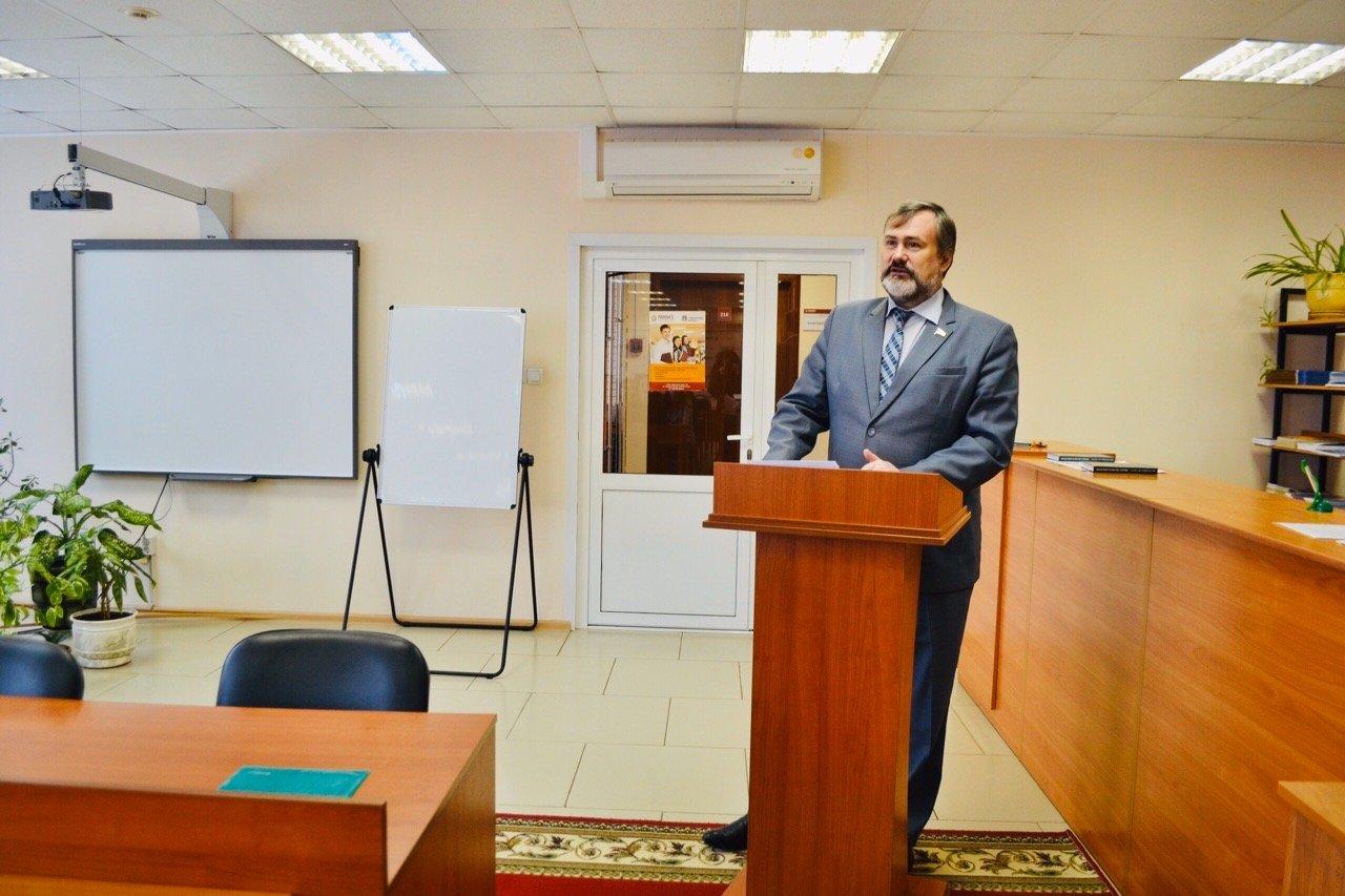 В Тамбовском филиале РАНХиГС состоялась открытая лекция Павла Плотникова, фото-1