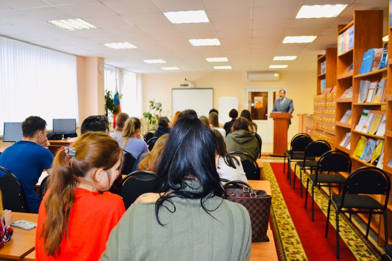 В Тамбовском филиале РАНХиГС состоялась открытая лекция Павла Плотникова, фото-2