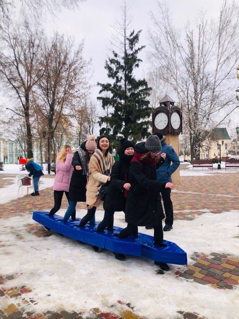 Студенты Тамбовского филиала РАНХиГС приняли участие в квесте «Снежный избирКОМ-2020», фото-1