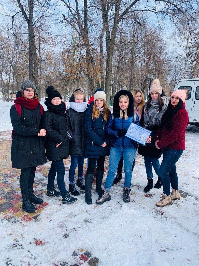 Студенты Тамбовского филиала РАНХиГС приняли участие в квесте «Снежный избирКОМ-2020», фото-2