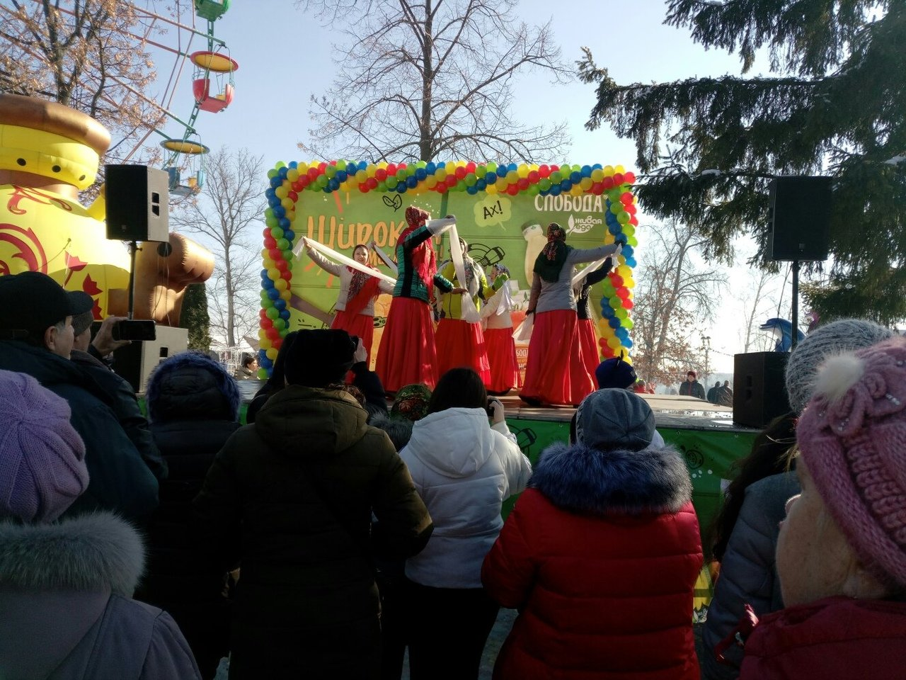Тамбовчане проводили зиму массовыми гуляниями, фото-3
